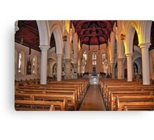 St Michael's Cathedral, Wagga Wagga, NSW, Australia Canvas Print