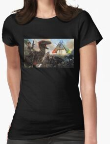 Ark  Womens Fitted T-Shirt
