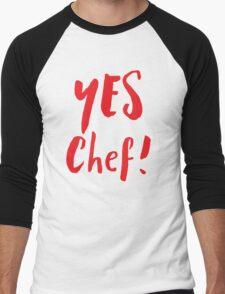 YES CHEF! Men's Baseball ¾ T-Shirt