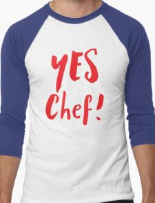 YES CHEF! Men's Baseball ¾ T-Shirt