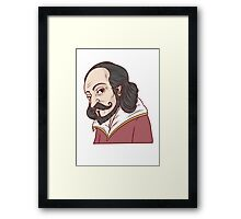Shakespeare Framed Print