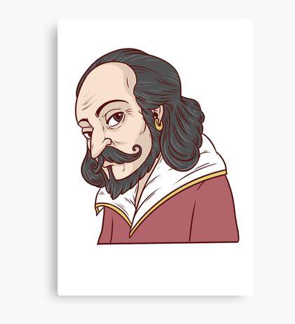 Shakespeare Canvas Print
