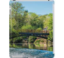 Newlay Top Weir and Pollard Bridge iPad Case/Skin
