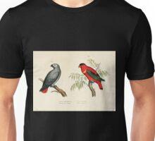 Bilder atlas zur Wissenschaftlich populären Naturgeschichte der Vögel in ihren sämmtlichen Hauptformen Leopold Joseph Fitzinger 1864 003 Unisex T-Shirt