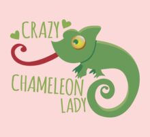 Crazy Chameleon lady One Piece - Short Sleeve