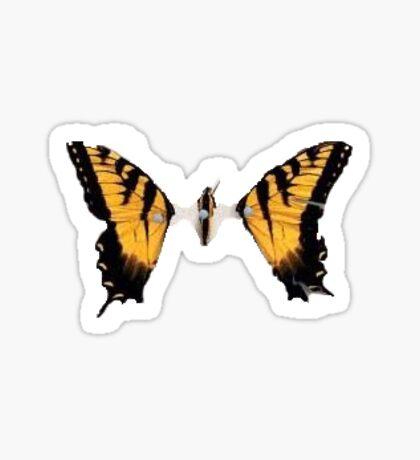 Brand New Eyes Butterfly Sticker Sticker