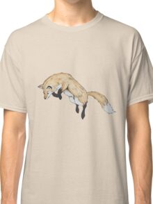fox jumping Classic T-Shirt