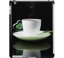 white Cup of coffee isolated  iPad Case/Skin