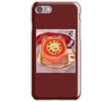 Dial a disc iPhone Case/Skin
