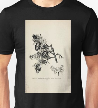Southern wild flowers and trees together with shrubs vines Alice Lounsberry 1901 003 Carolina Hemlock Unisex T-Shirt