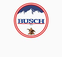 buschlight, busch light, busch, beer, drink, mountain, pub, logo, symbol. Unisex T-Shirt