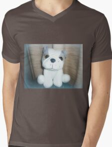 Pete the Pup - A gorgeous Gift Mens V-Neck T-Shirt
