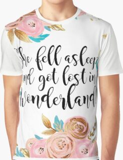 Lost in Wonderland Graphic T-Shirt