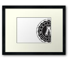 Official Artitude Merchandise Framed Print