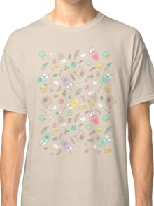Bear and smoothie Classic T-Shirt