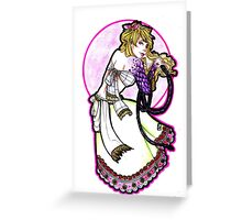 Lucy Hearthfilia Greeting Card