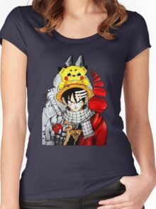 Childhood Anime Women's Fitted Scoop T-Shirt