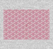 goyard pink logo One Piece - Short Sleeve