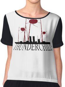 War of the Worlds - Thunderchild Chiffon Top