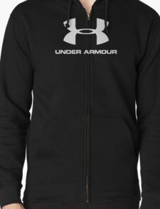 Athletic Under Armour Zipped Hoodie