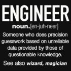 Engineer Definition Funny T-shirt by angelshirt