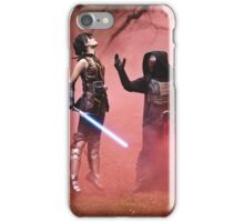 The Dark Side Calls - Star Wars The Old Republic iPhone Case/Skin