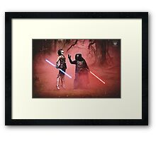The Dark Side Calls - Star Wars The Old Republic Framed Print
