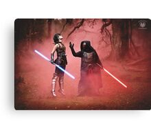 The Dark Side Calls - Star Wars The Old Republic Canvas Print