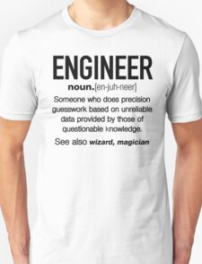 Engineer Definition Funny T-shirt T-Shirt