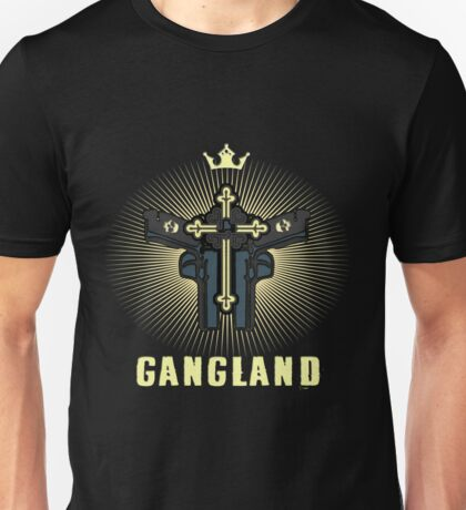 Biker T-Shirts / Gangland Unisex T-Shirt