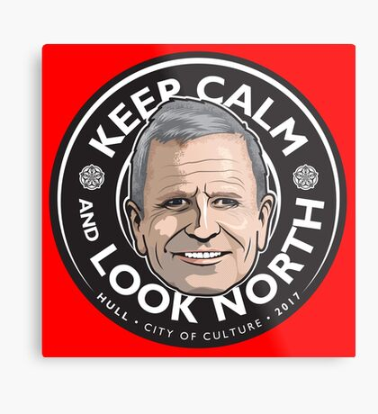 Keep Calm with Peter Levy Metal Print
