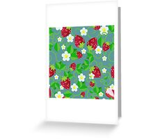 Summer Strawberries Greeting Card