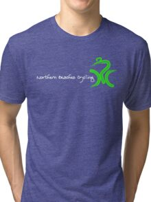 White Title by Peter Hunt Tri-blend T-Shirt