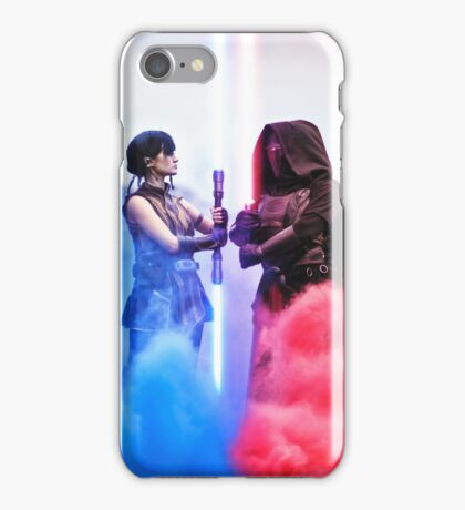 Face Off - Star Wars The Old Republic iPhone Case/Skin