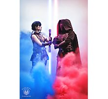 Face Off - Star Wars The Old Republic Photographic Print