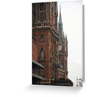St Pancras  Greeting Card
