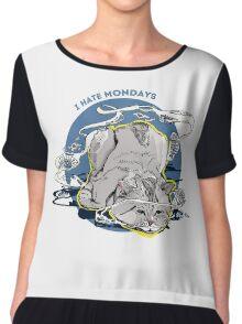 Mondays Chiffon Top