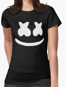 Marshmallow. Womens Fitted T-Shirt