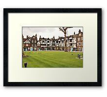Green Lawns Framed Print
