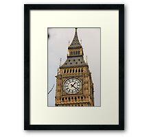 Big Ben Close Up Framed Print