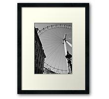 Artsy London Eye Framed Print