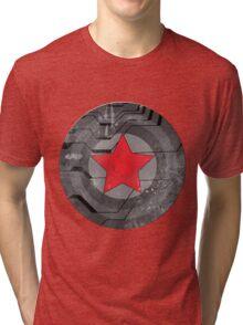 Winter Solider Shield Tri-blend T-Shirt