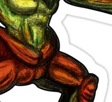 Oddworld: Scrab (Digital Drawing) Sticker