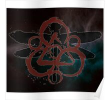 HOT COHEED & CAMBRIA  RED SYMBOL MOSQUITO Poster