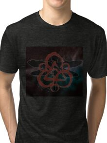 HOT COHEED & CAMBRIA  RED SYMBOL MOSQUITO Tri-blend T-Shirt