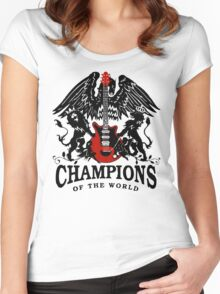 champions crest Women's Fitted Scoop T-Shirt