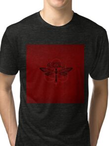 HOT COHEED & CAMBRIA  RED MOSQUITO Tri-blend T-Shirt