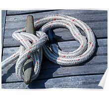 Nautical Rope 3 Poster