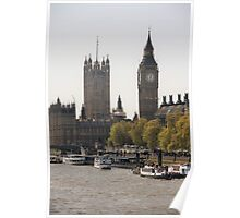 Thames View Poster