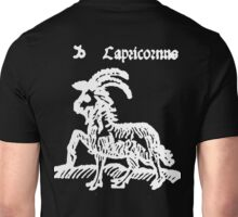 CAPRICORN, Sea Goat, Astrology, Signs of the Zodiac, Birth Star, Horoscope, Birth Sign Unisex T-Shirt